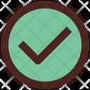 Approve Check Right Icon