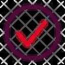 Approve Checklist Ui Icon
