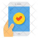 Check Pass Smartphone Icon
