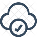 Approve Cloud Accept Icon