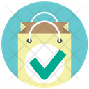 Approve Bag Buy Icon
