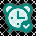 Alarm Time Check Icon