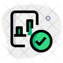 Approve Analysis Icon