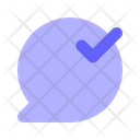 Approve-chat Icon