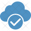 Approve Cloud Icon