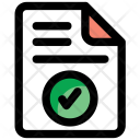 Data Approved File Icon