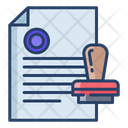 Approve Document Verify File Approval File Icon