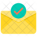 Check Paper Approve Email Check Email Icon