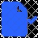 Approvefile File Paper Icon