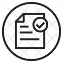 File Folder Paper Icon
