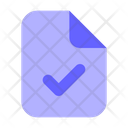 Approve-file Icon