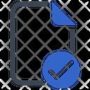 Approve Check File Icon