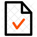 Approve File Verify File Approve Icon