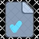 Approve File File Approve Approve Icon