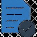 Approve Done File Icon