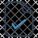 Check File Sheet Icon