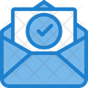 Check Approve Mail Check Mail Icon