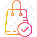 Approve Order Bag Icon