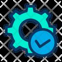 Verify Approve Setting Icon