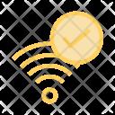 Tick Done Wifi Icon