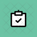 Approved Certified Clipboard Icon