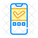 Approved Mark Mobile Icon