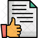 Approved Business Report Document Icon