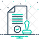 Approved Cleared Processed Icon