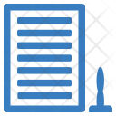 Approved Paper Agreement Icon