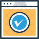 Approved Webpage Website Icon