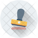 Approved Stamp Authorized Icon