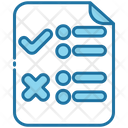 Approved And Rejected Icon