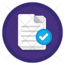 Approved Assignment Icon