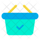 Basket Approved Checked Icon