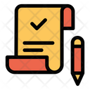 Accept Approved Bill Icon
