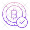 Approved Bitcoin Icon