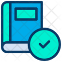 Approved  Book Icon