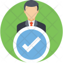 Selected Hired Approved Icon