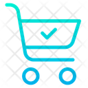 Approved Cart Ecommerce Icon