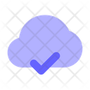 Approved Cloud Checked Cloud Cloud Icon