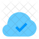 Approved Cloud Network Icon