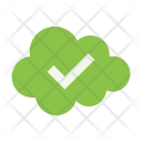 Approved Cloud Icon