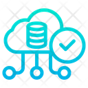 Approved Cloud Data Icon