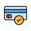 Approved Credit Card Check Card Verify Card Icon