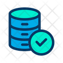Verified Database Verified Data Approved Data Icon