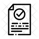 Document Text File Icon