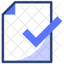File Document Aproved Icon
