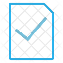 Approved Document Approved File Aprroved Icon