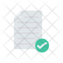 Document Tick File Icon