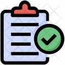 Seo Clipboard Document Icon